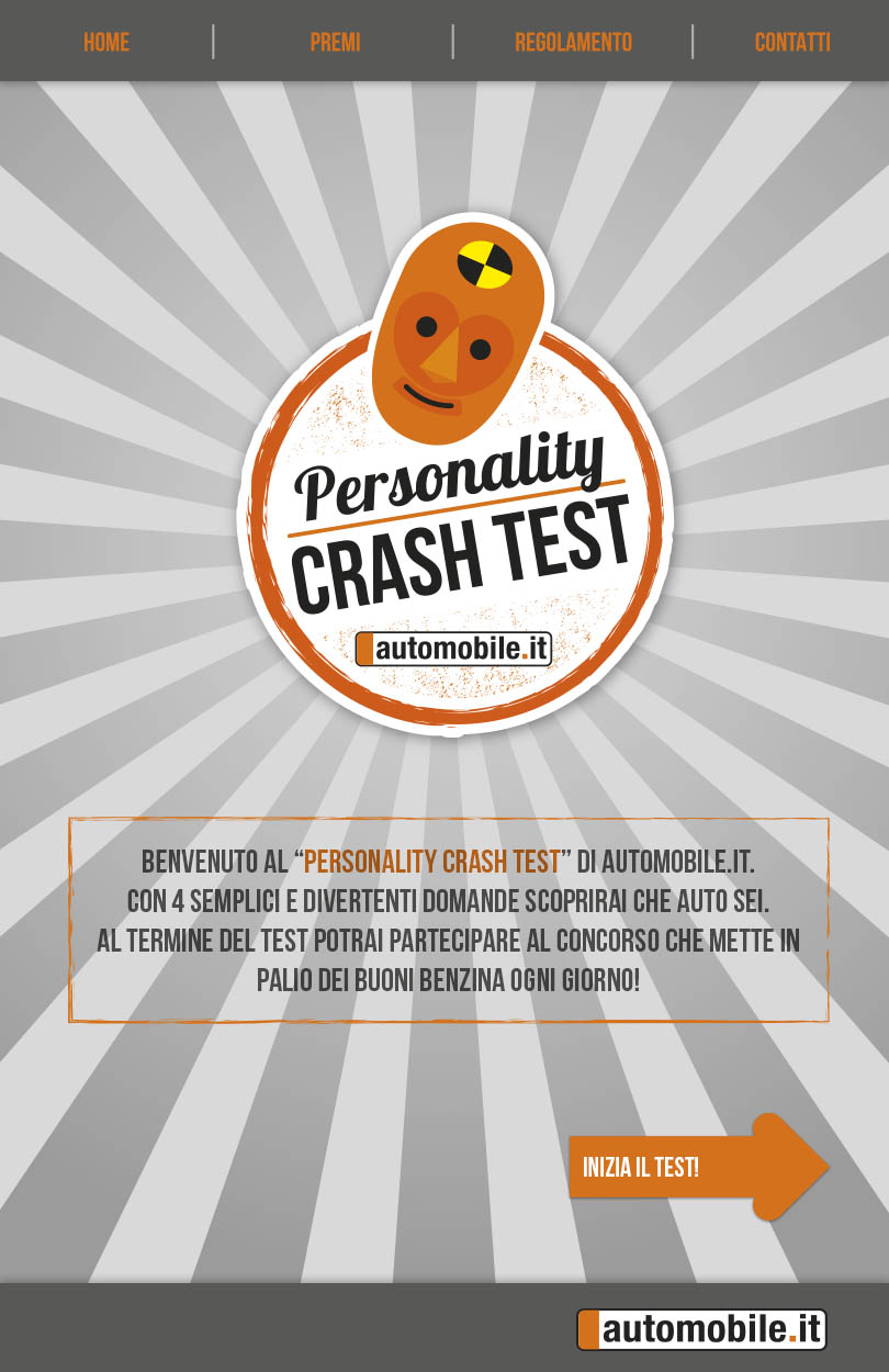 Personality Crush Test