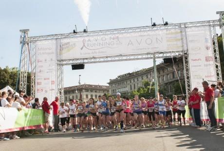 Avon Running Tour_la Partenza